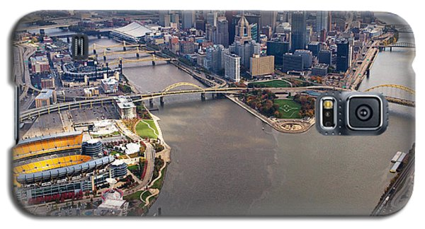 Above Pittsburgh In  Color  Galaxy S5 Case