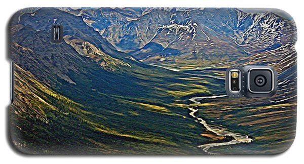 Above The Arctic Circle Galaxy S5 Case by John Haldane