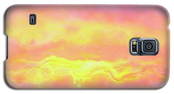 Above The Clouds - Abstract Art Galaxy S5 Case