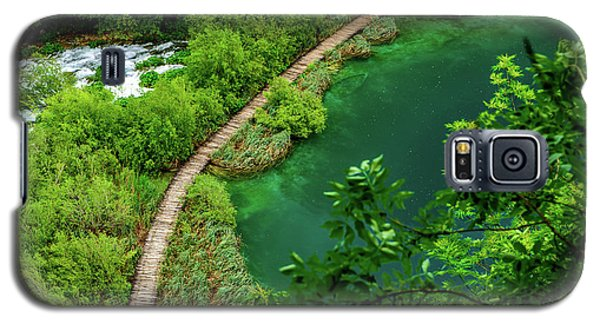 Above The Paths At Plitvice Lakes National Park, Croatia Galaxy S5 Case