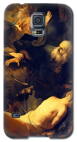 Abraham And Isaac Galaxy S5 Case