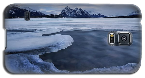 Abraham Lake Sans Bubbles Galaxy S5 Case