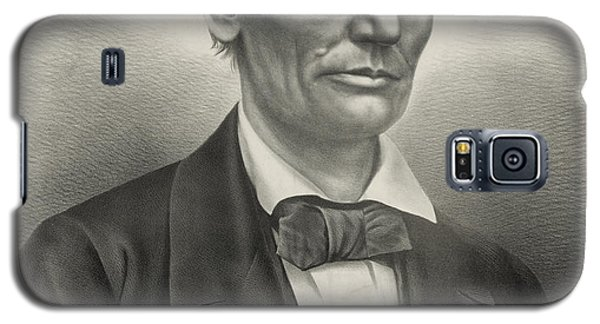 Galaxy S5 Case featuring the photograph Abraham Lincoln - As A Presidential Candidate by International  Images