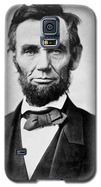 Abraham Lincoln -  Portrait Galaxy S5 Case by International  Images
