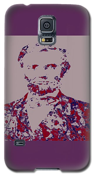Abraham Lincoln 4c Galaxy S5 Case by Brian Reaves