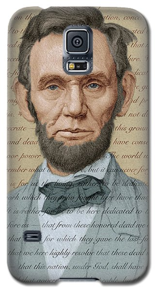 Abraham Lincoln - Soft Palette Galaxy S5 Case