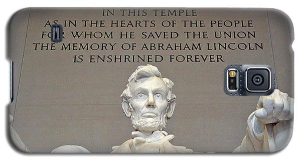 Abraham Lincoln Statue - 2 Galaxy S5 Case