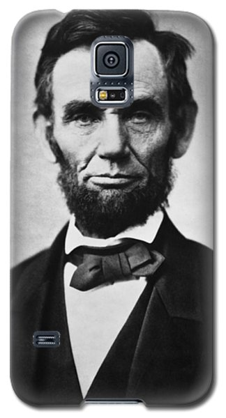 Abraham Lincoln Galaxy S5 Case by War Is Hell Store