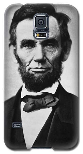 Politicians Galaxy S5 Case - Abraham Lincoln by War Is Hell Store