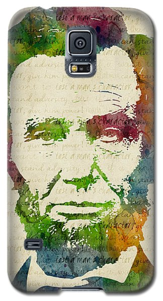 Abraham Lincoln Watercolor Galaxy S5 Case