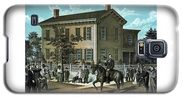 Abraham Lincoln's Return Home Galaxy S5 Case by War Is Hell Store