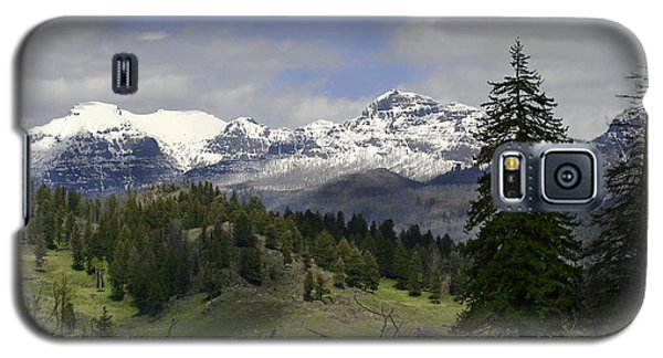 Absaroka Mts Wyoming Galaxy S5 Case