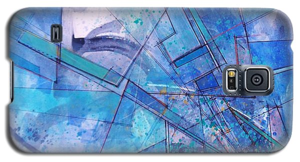 Galaxy S5 Case featuring the painting Abstract # 246 by Robert Anderson