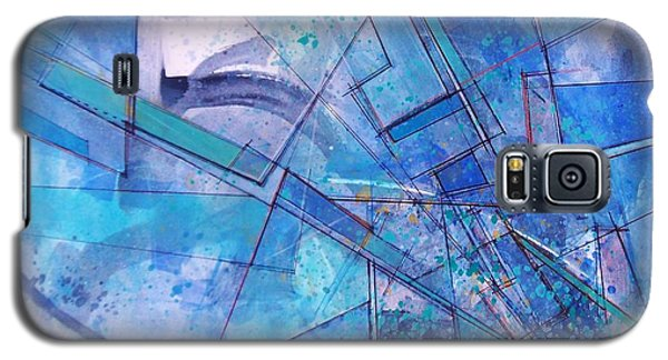 Abstract # 246 Galaxy S5 Case by Robert Anderson