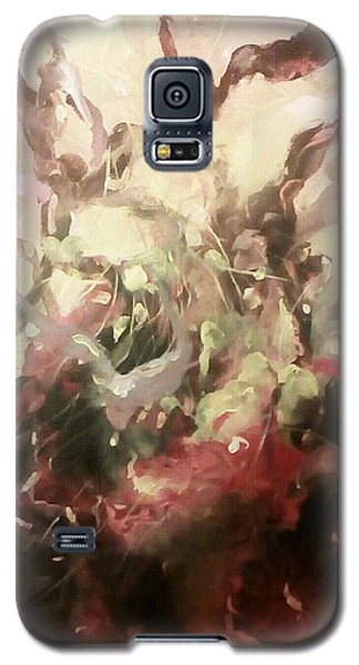 Galaxy S5 Case featuring the painting Abstract #01 by Raymond Doward