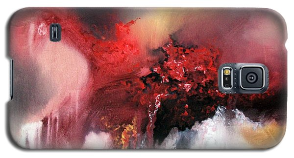 Galaxy S5 Case featuring the painting Abstract #02 by Raymond Doward