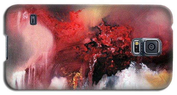 Abstract #02 Galaxy S5 Case by Raymond Doward
