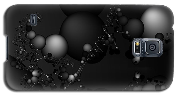 Abstract 119 Bw Galaxy S5 Case