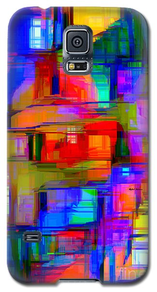 Abstract 1293 Galaxy S5 Case