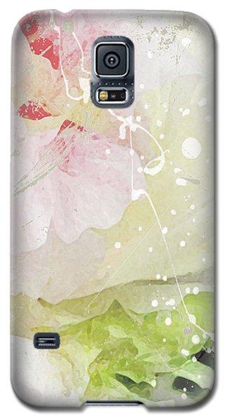 Pink Peonies Galaxy S5 Case