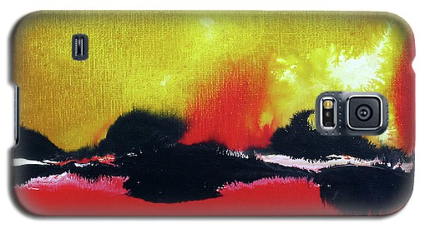 Abstract 201207 Galaxy S5 Case
