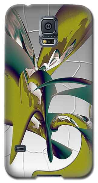Abstract 2258 Galaxy S5 Case
