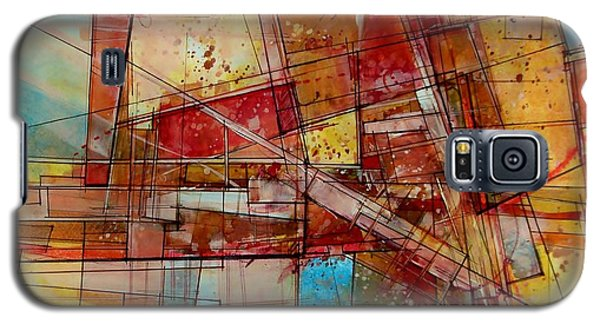 Abstract #240 Galaxy S5 Case by Robert Anderson
