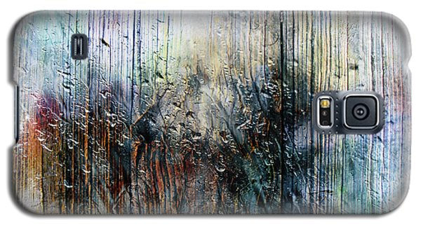 2f Abstract Expressionism Digital Painting Galaxy S5 Case