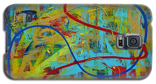 Abstract 2_untitled Galaxy S5 Case