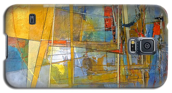 Galaxy S5 Case featuring the painting Abstract #38 by Robert Anderson