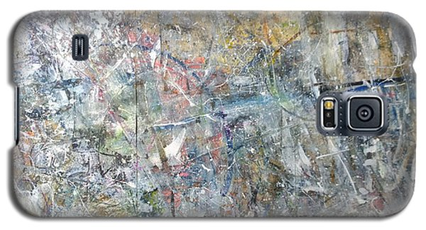 Galaxy S5 Case featuring the painting Abstract #415 by Robert Anderson