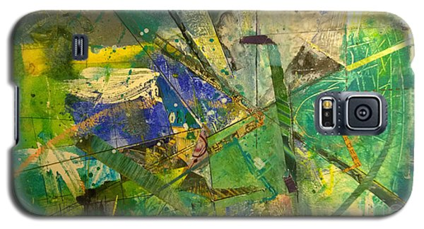 Galaxy S5 Case featuring the painting Abstract #41715 by Robert Anderson