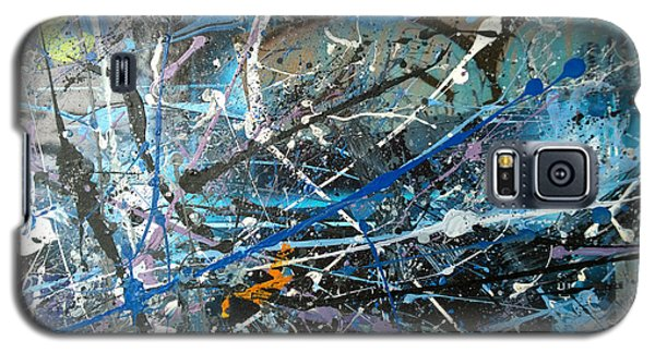 Galaxy S5 Case featuring the painting Abstract #419 by Robert Anderson
