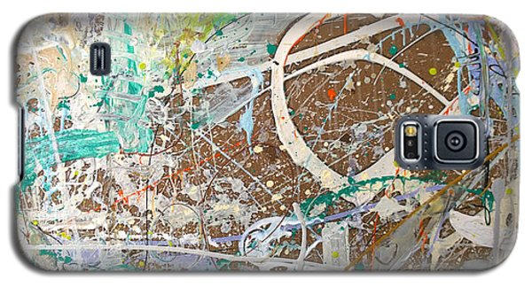 Abstract #41915 Or Waxing Gibbous Galaxy S5 Case