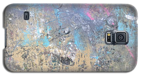Galaxy S5 Case featuring the painting Abstract #42115a by Robert Anderson