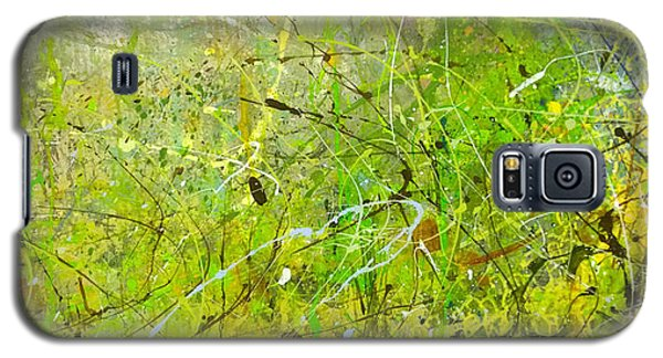 Abstract #42515b Or Marsh Life Galaxy S5 Case