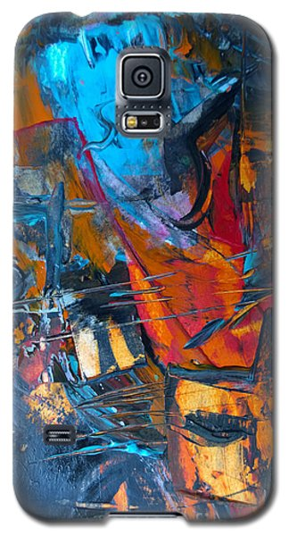 Abstract #42715b Galaxy S5 Case