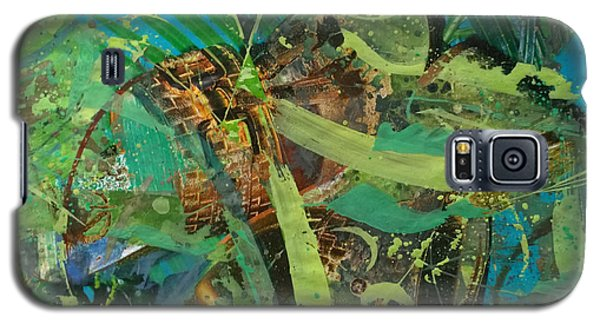 Galaxy S5 Case featuring the painting Abstract #493 by Robert Anderson