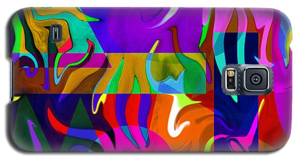 Abstract 7d Galaxy S5 Case