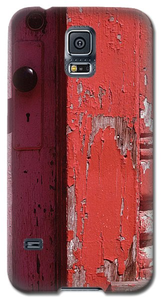 abstract architecture - Red Door Galaxy S5 Case