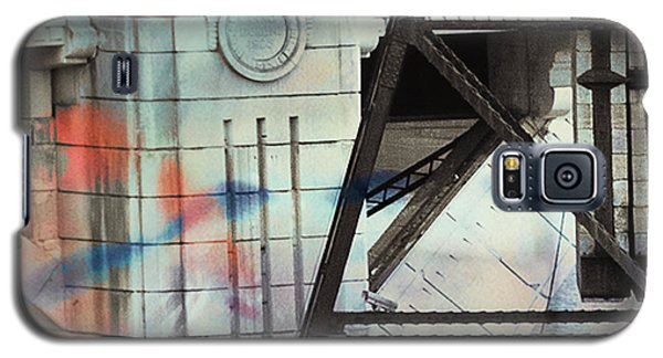 Abstract Architecture Galaxy S5 Case by Susan Stone
