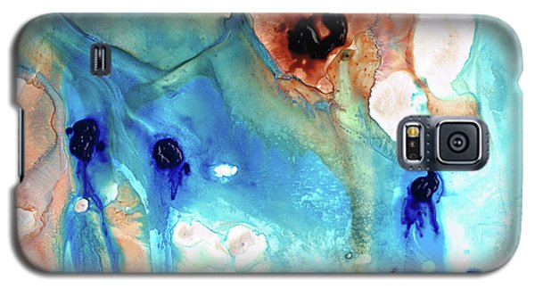 Galaxy S5 Case featuring the painting Abstract Art - The Journey Home - Sharon Cummings by Sharon Cummings