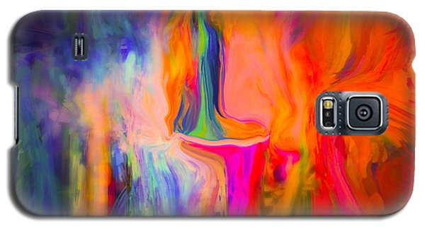 Abstract Art  Waiting Galaxy S5 Case