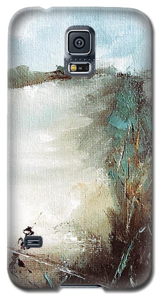 Abstract Barbwire Pasture Landscape Galaxy S5 Case