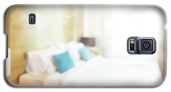 Galaxy S5 Case featuring the photograph Abstract Bedroom by Atiketta Sangasaeng