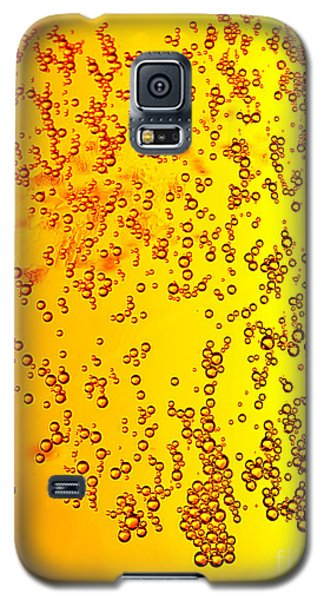 Abstract Beer Background Galaxy S5 Case