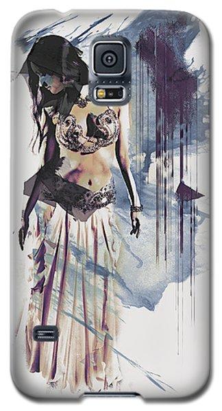 Abstract Bellydancer Galaxy S5 Case