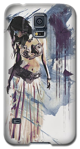 Abstract Bellydancer Galaxy S5 Case