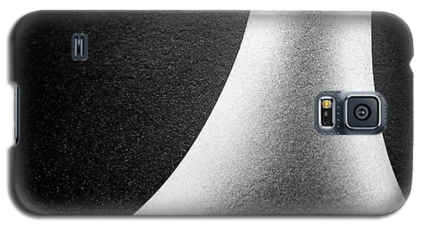 Abstract-black And White Galaxy S5 Case