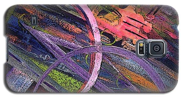 Abstract Blast Galaxy S5 Case